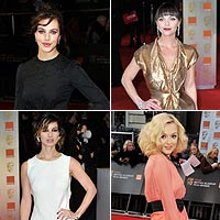 Vote for the most elegant star at the BAFTAs