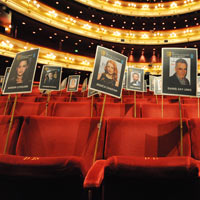 'Heads on sticks': BAFTA preparations in full swing