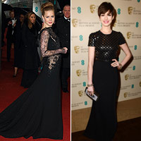 Stunning BAFTA stars keep it simple in black