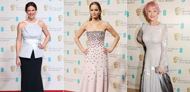 Glamorous Jennifer Garner triumphs in BAFTA 'best dressed' vote