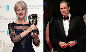 Prince William honours Dame Helen Mirren with BAFTA Fellowship Award