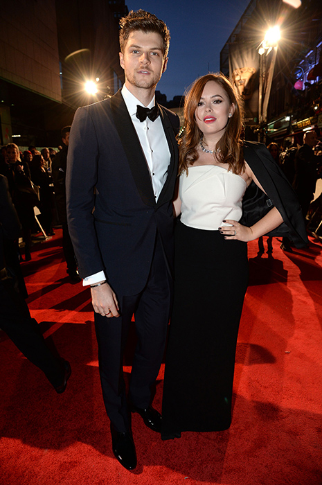 hollywoods lovedup couples hit the baftas red carpet