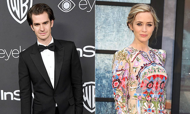 Emily Blunt and Andrew garfield