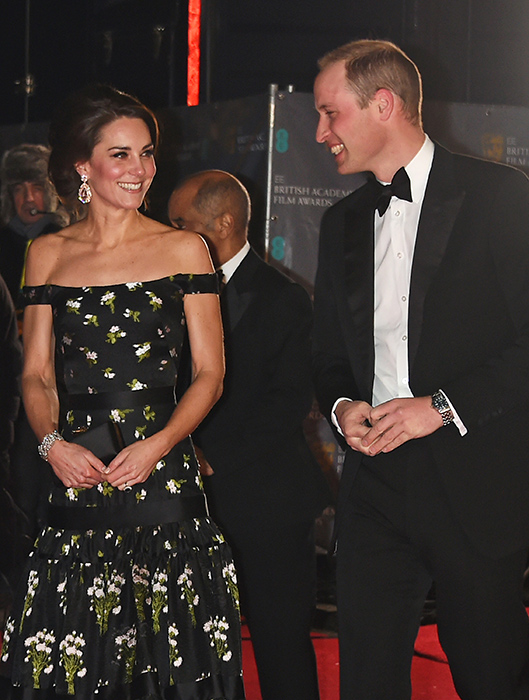 prince william kate middleton baftas 2017