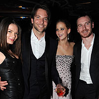 BAFTA stars celebrate their victory at glamorous after party
