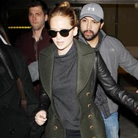 Jennifer Lawrence, Amy Adams and Jennifer Garner fly back to LA after BAFTA bash